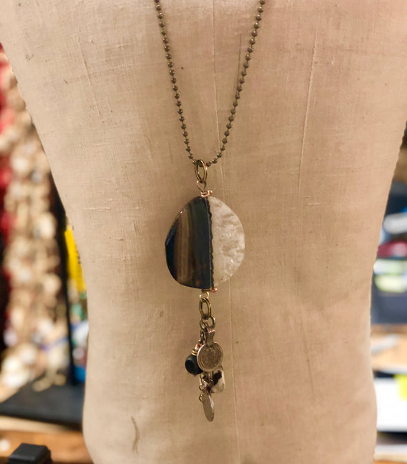 J Parkes Agate Slice Necklace (7)
