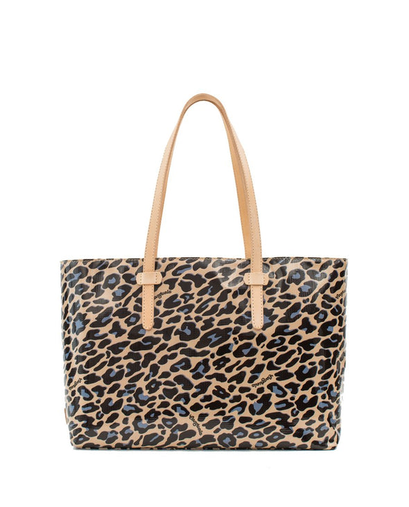 Consuela East West Blue Jag Tote