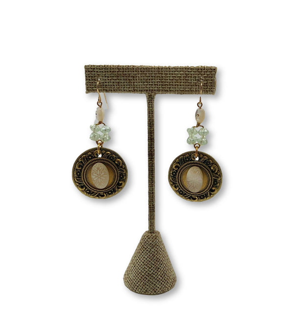 Elements Mother of Pearl Earrings