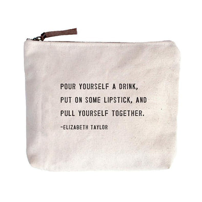 Pull Yourself Together Canvas Pouch