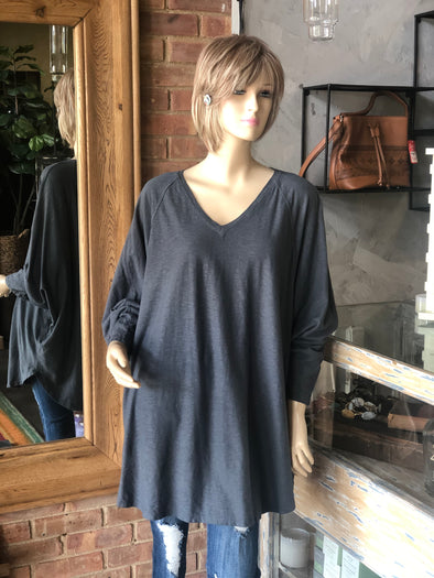 Cut Loose V-Neck Tunic