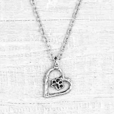 Puppy Heart  Necklace