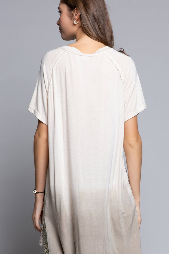 Ombre Not-So-Basic Tee