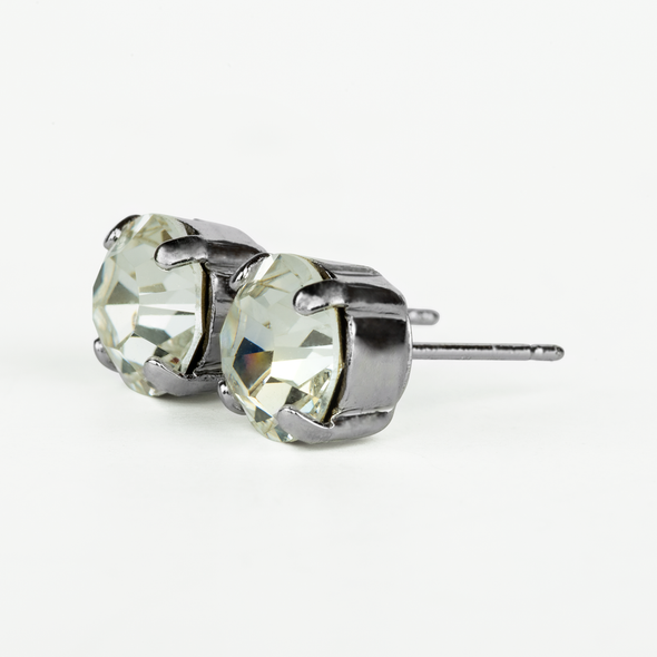 Mariana Clear Crystal Stud Earrings