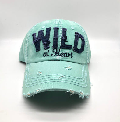 Wild at Heart Ball Cap