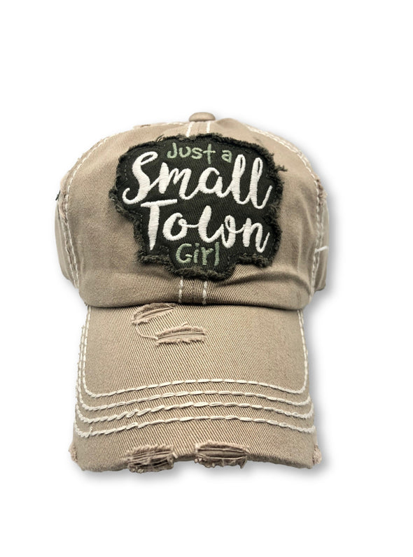 Small Town Girl Ball Cap