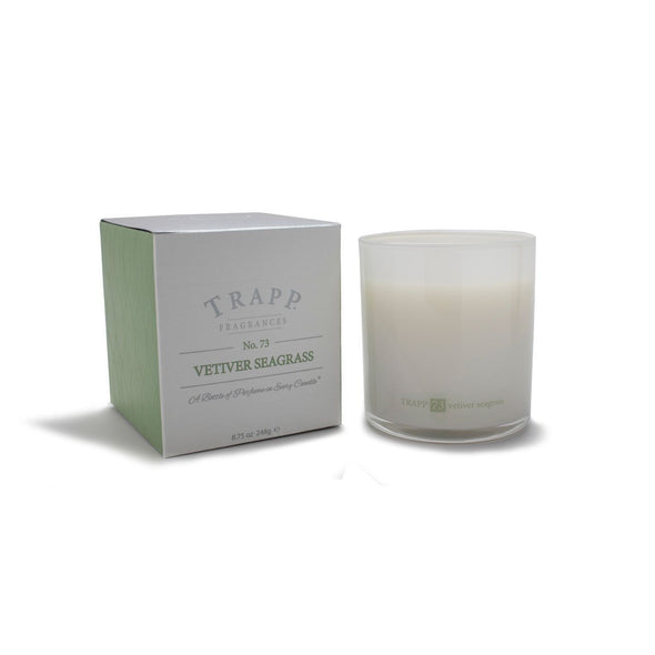 Trapp Vetiver and SeaGrass Candle