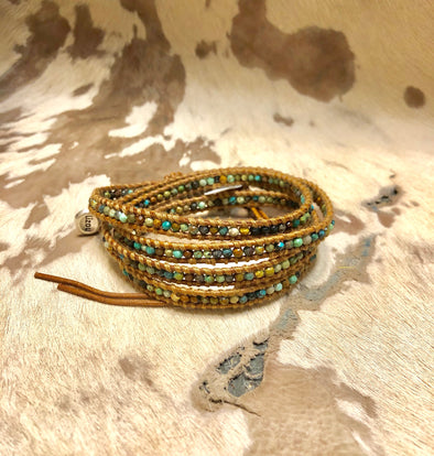 Mini Bead Wrap Bracelet