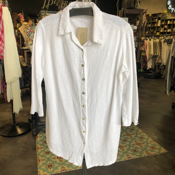 Cut Loose Button Up