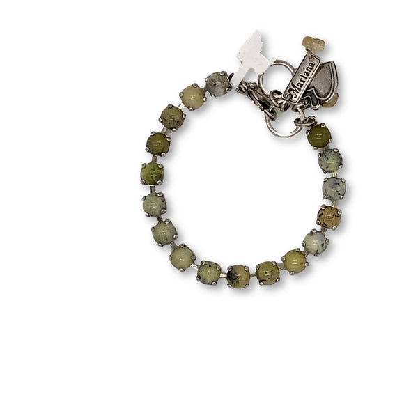 J. Parkes Ltd., Mariana Yellow Turquoise Small Stone Bracelet, [product, type], J. Parkes Ltd.