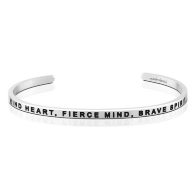 Kind Heart, Fierce Mind, Brave Spirit Mantra Band
