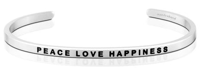 Peace Love Happiness Mantra Band
