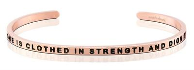 She is Clothed in Strength and Dignity Mantra Band