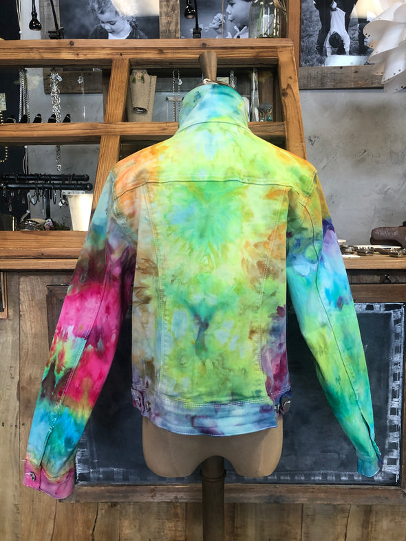 JP Hand dyed Jean jacket #12