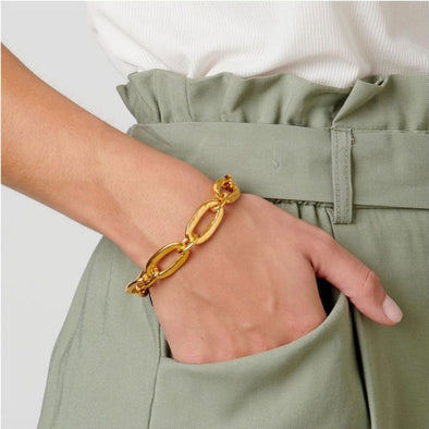 UNOde50 Awesome Link Bracelet (gold)