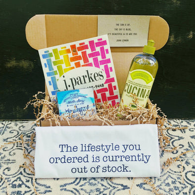 Hostess/Housewarming/Just for Fun Gift Box