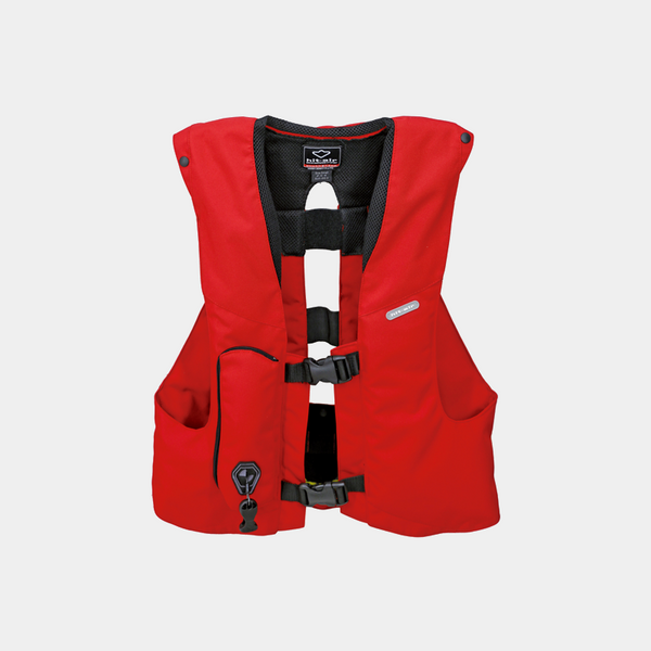 Hit Air - Gilet Complet Rouge | - Ohlala Sellerie