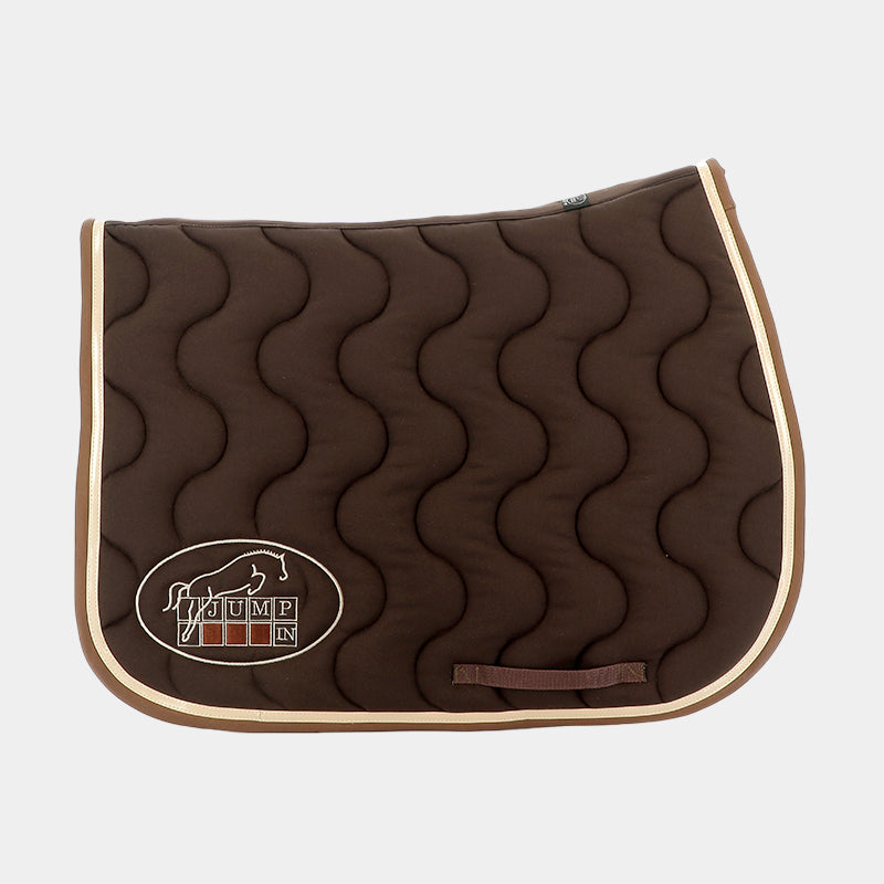 Jump'In - Tapis de selle Chocolat / Champagne / Choco