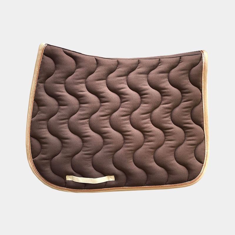 Paddock Sports - Tapis de selle Taupe / Rose gold / Crème | - Ohlala