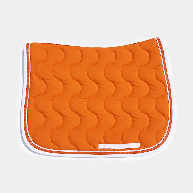 Paddock Sports - Tapis de selle Orange / Blanc / Orange / Blanc | - Ohlala