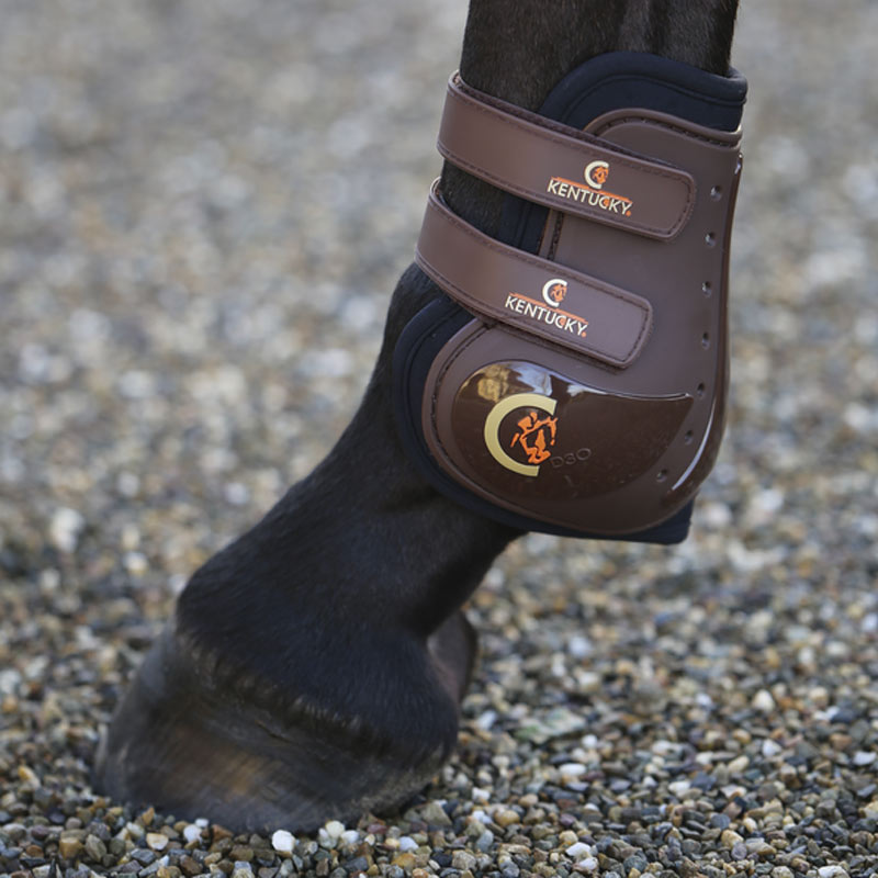 Kentucky Horsewear - Protège boulet Moonboot max marron | - Ohlala