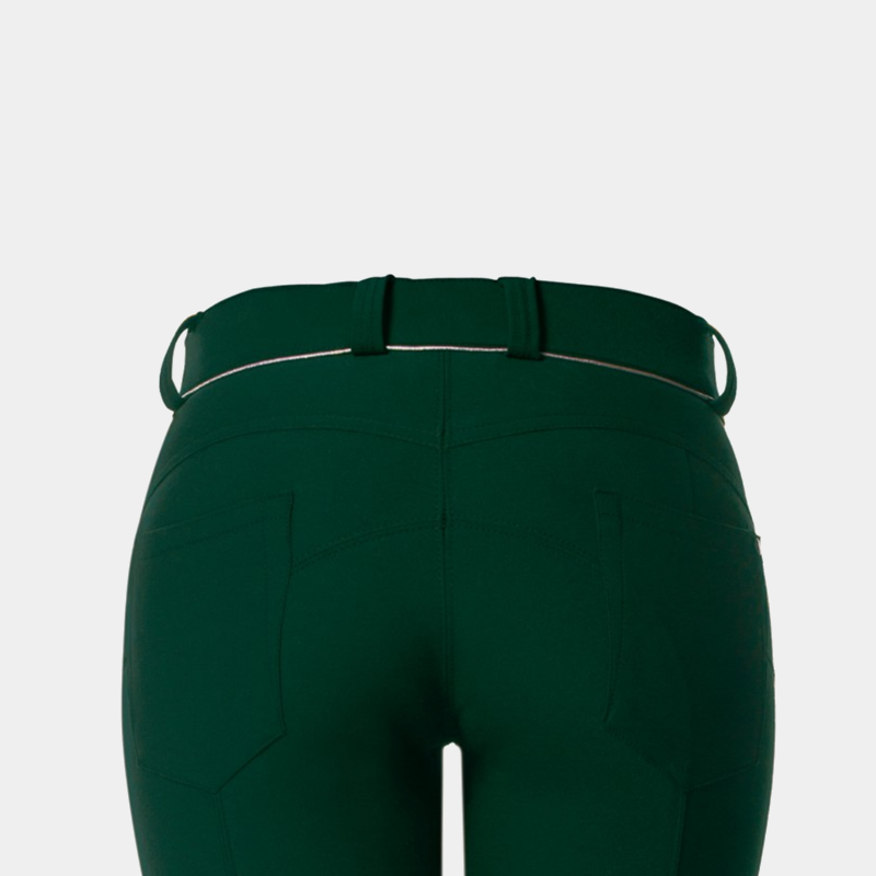 Flags & Cup - Pantalon d'équitation Push up Vert forêt | - Ohlala