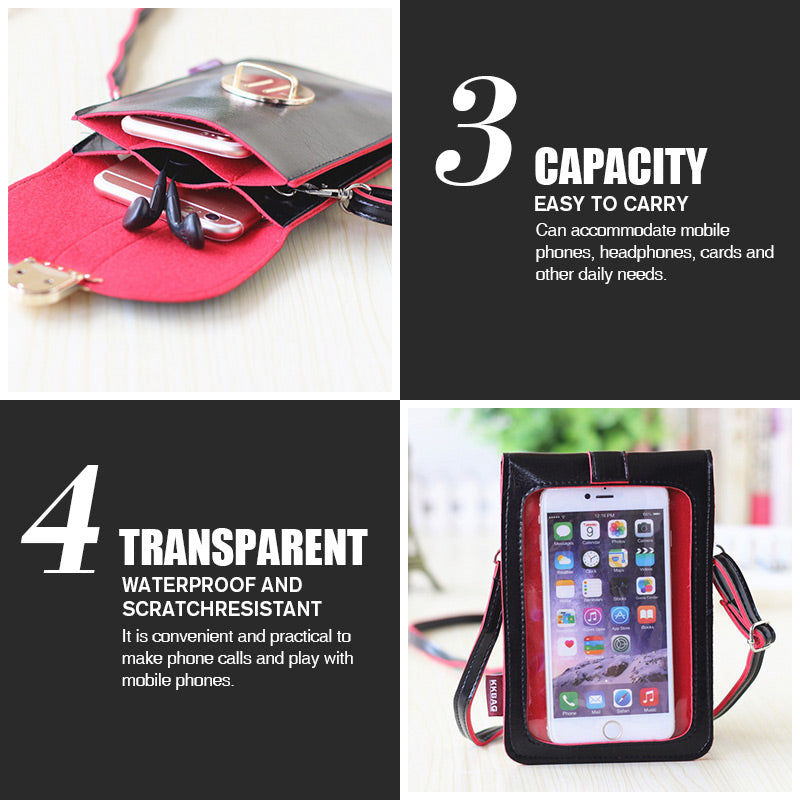 Mobile Touchscreen-Brieftasche