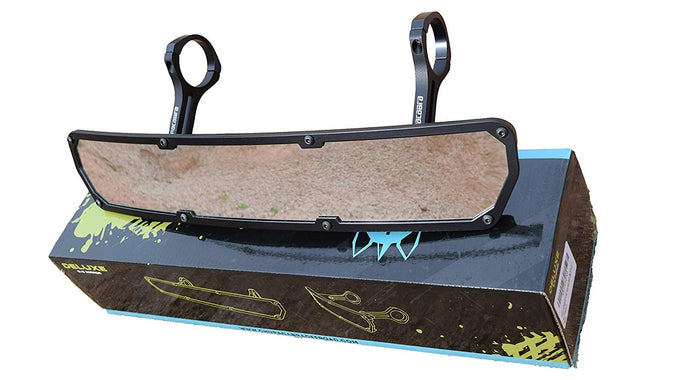 Offroad DELUXE Side By Side Rear View UTV Mirror 1.75