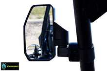 "Load image into Gallery viewer, Offroad Rear View/Side Mirror for UTV with SPOT Mirror - Right & Left Pair for 1.6"" - 2"""