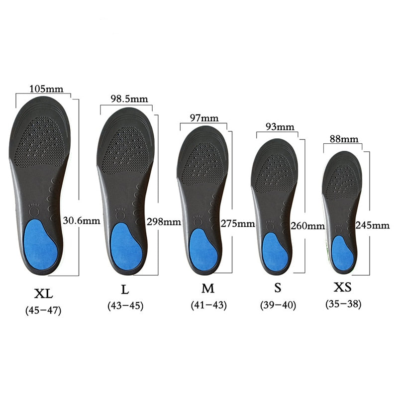 INSOLEPRO™ PREMIUM ORTHOPEDIC INSOLES