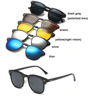 Forever Fresh 5 in 1 Magnetic Sunglasses