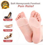 Soft Honeycomb Forefoot Pain Relief (One Pair 50% OFF)