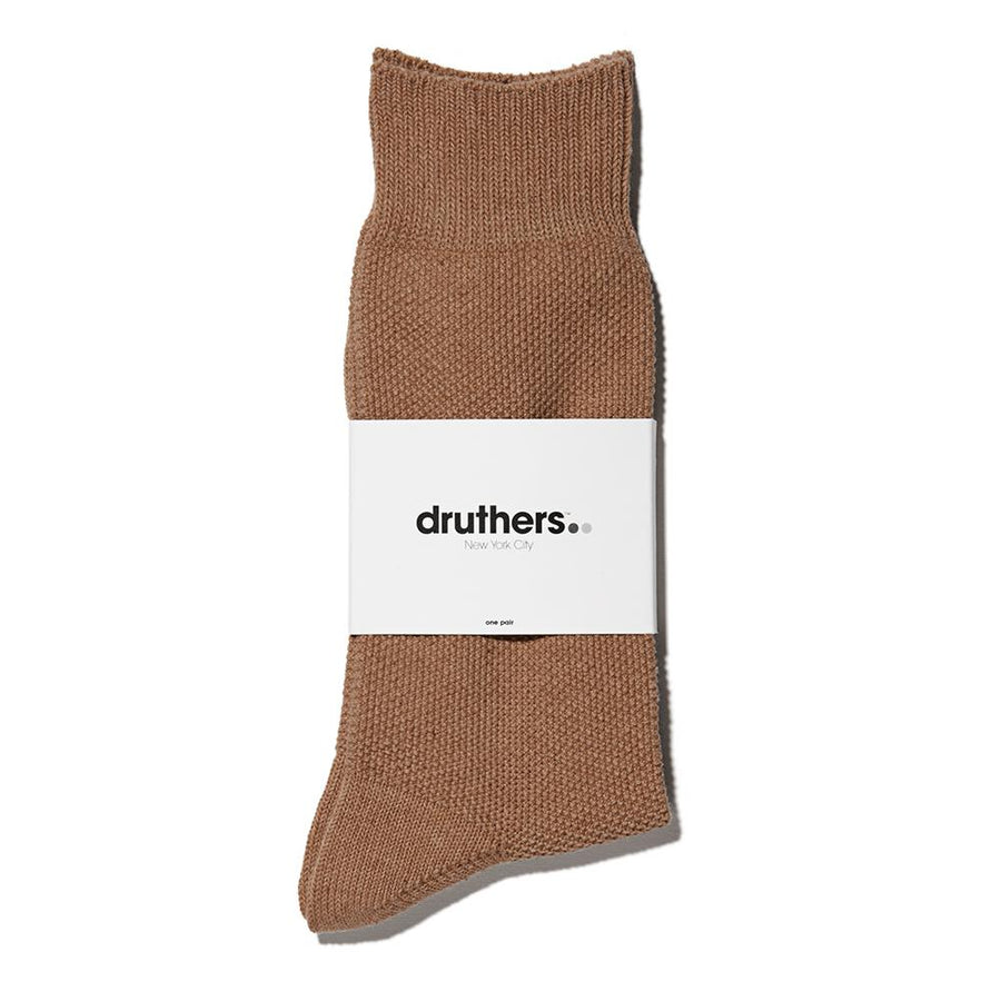 treen-druthers-organic-cotton-pique-crew-sock-brown