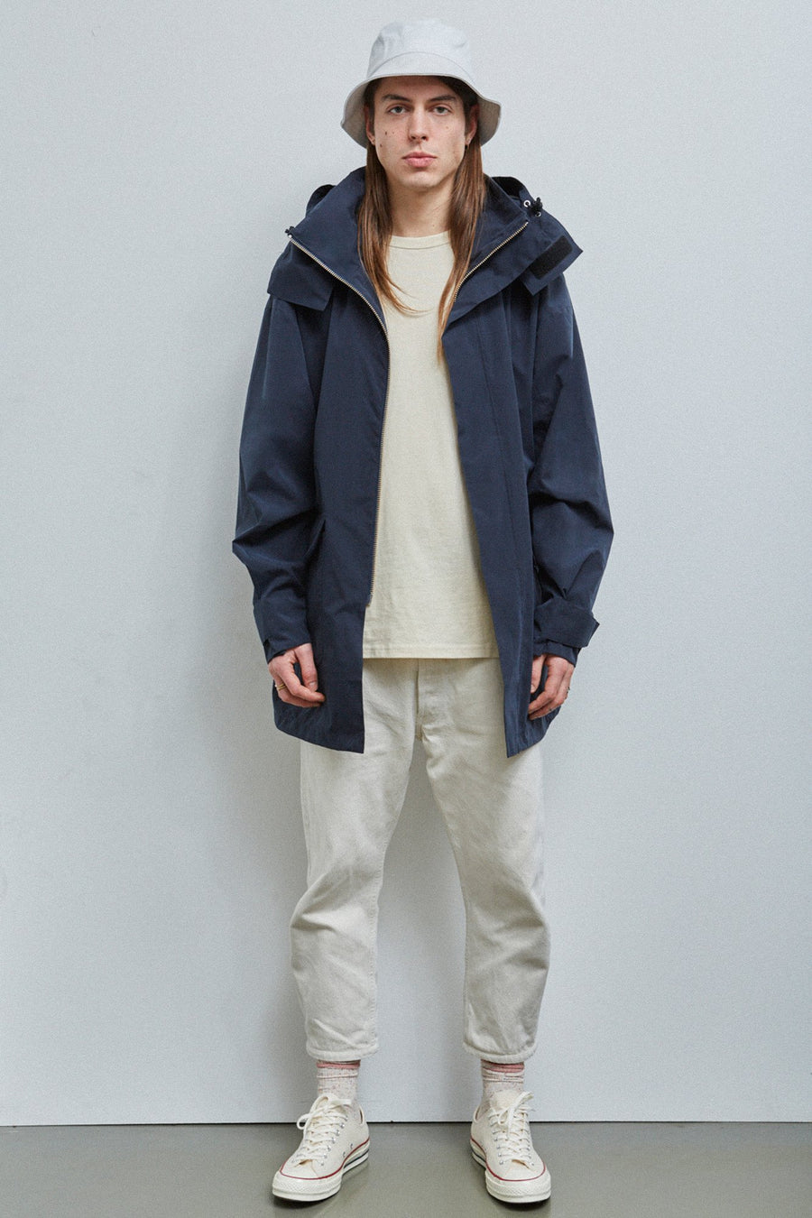 Embassy of Bricks and Logs • Chesterfield Parka • Dark Navy