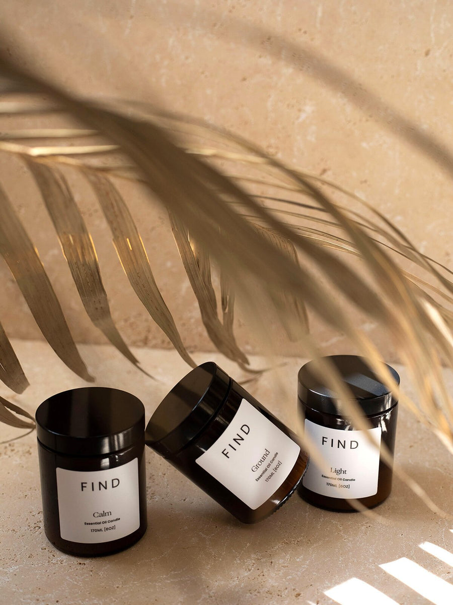 Find • Find Your Ground Candle