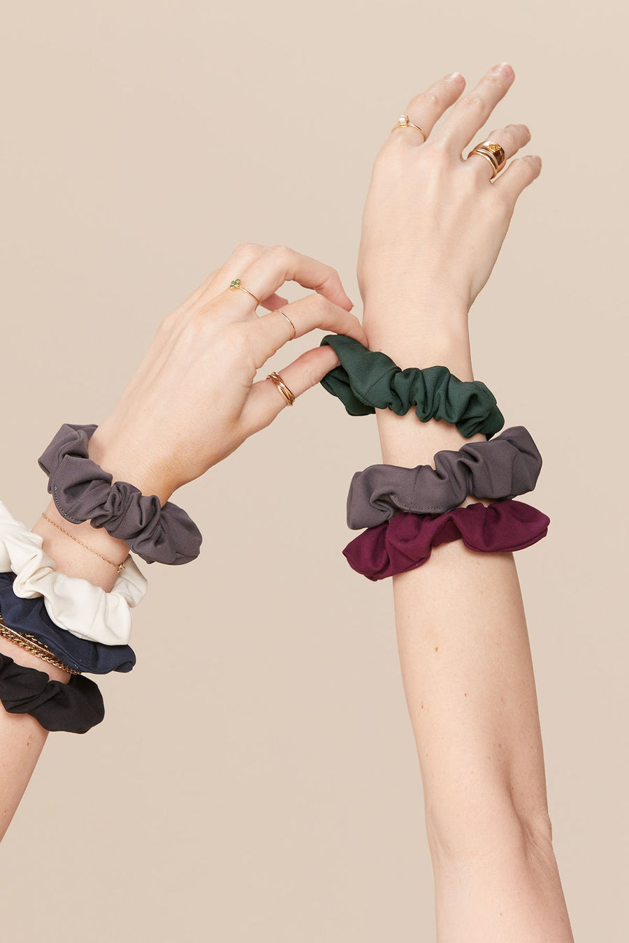 Girlfriend Collective • Scrunchie • Midnight