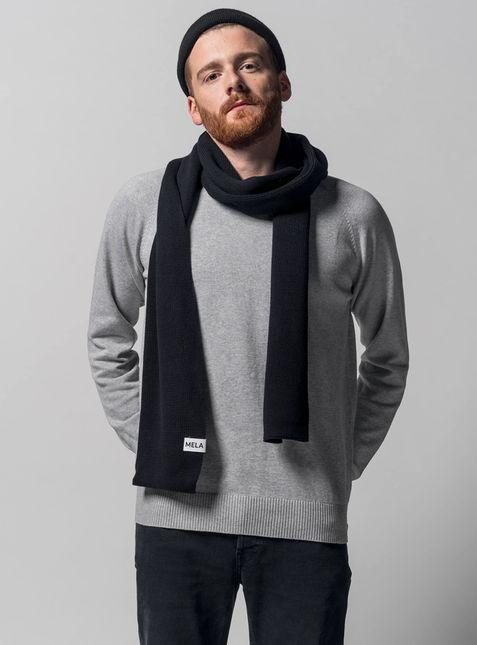 Melawear • Knit Scarf • Black