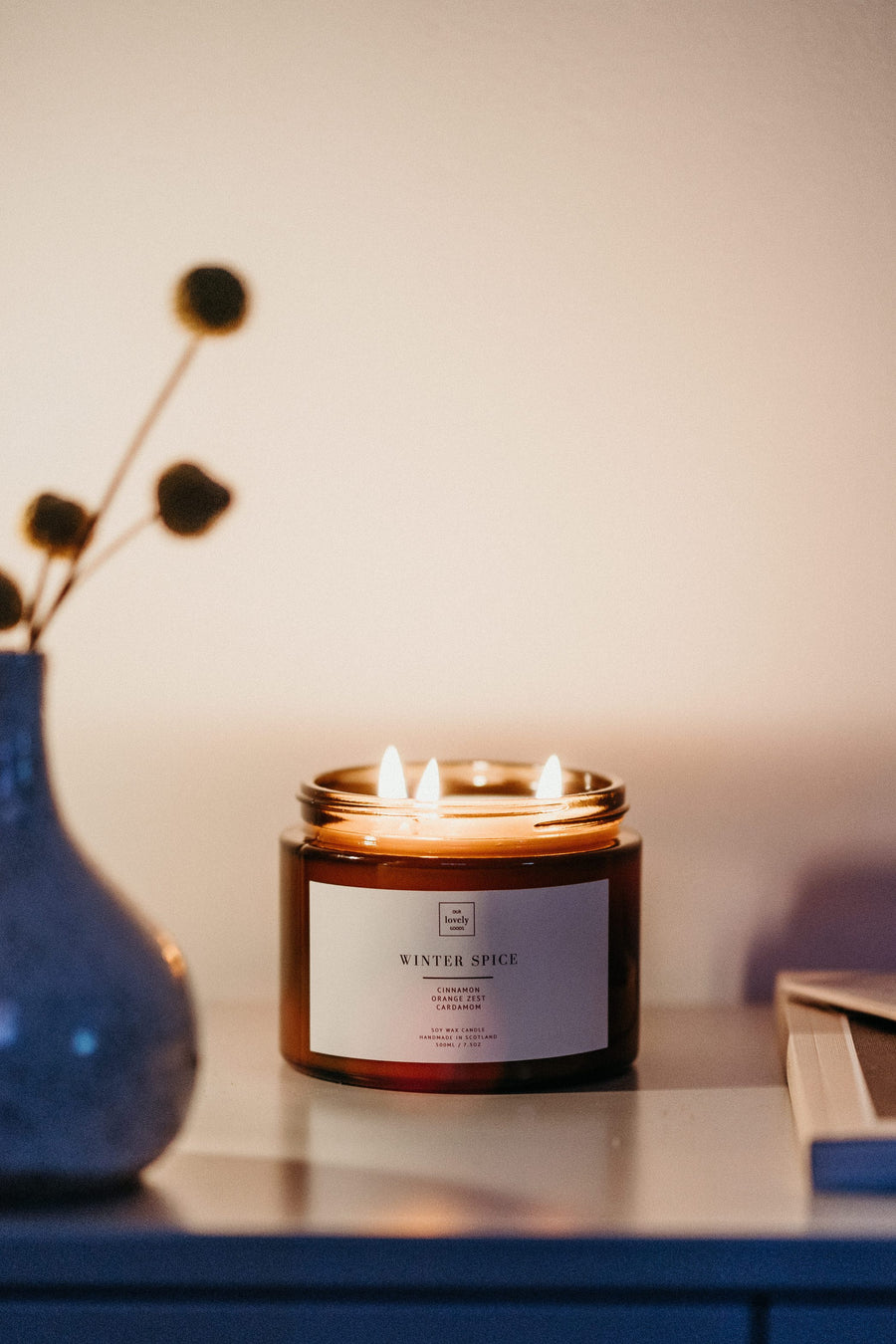 Our Lovely Goods • Winter Spice Candle • Large
