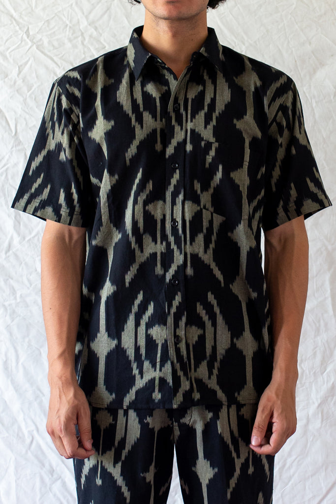 SHORT SLEEVE IKAT SHIRT