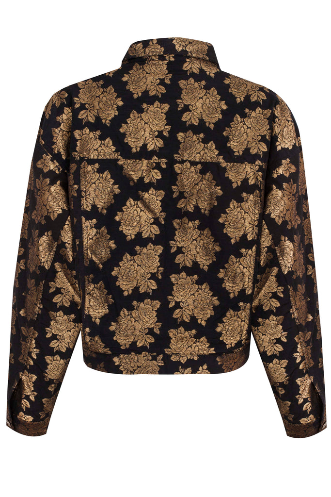 FLOWER JACQUARD JACKET