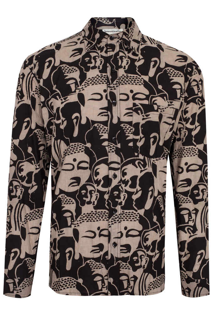 BUDDHA BLOCKPRINT SHIRT