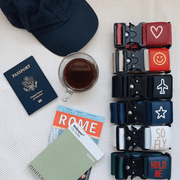 Painted Travel Belt Luggage Strap Cincha Travel