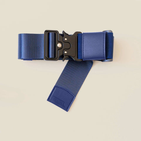 Travel Belt Luggage Strap Cincha Travel Navy