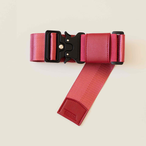 Travel Belt Luggage Strap Cincha Travel Ruby