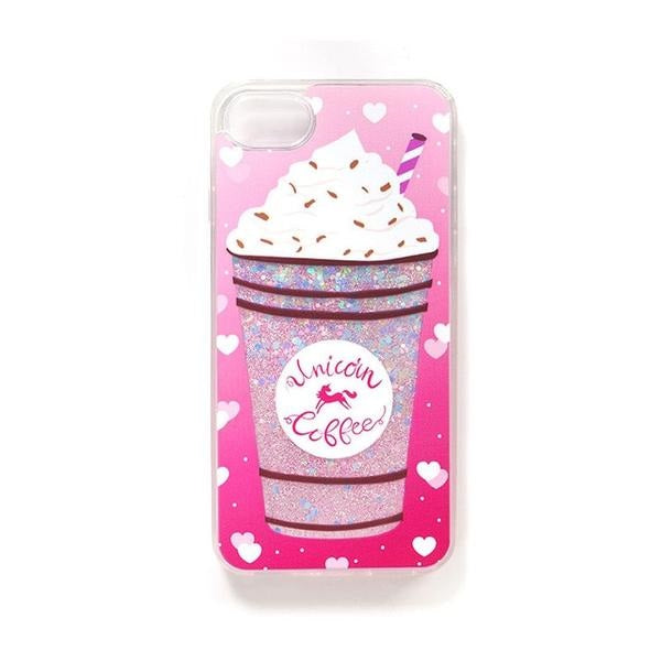 super popular eb6a8 35c7b Unicorn Coffee Phone Case
