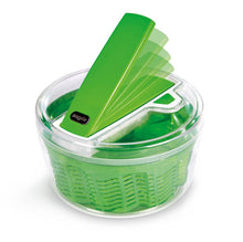 Load image into Gallery viewer, Zyliss Swift Dry Green Salad Spinner Small