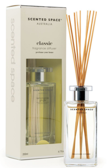 Scented Space Classic Lemongrass Ginger Diffuser 200ml