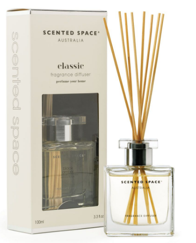 Scented Space Black Amber Diffuser 100ml