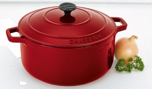 CHASSEUR RED FRENCH OVEN 26CM/5.3L