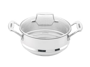 Scanpan Impact Stainless Steel Universal Steamer With Lid